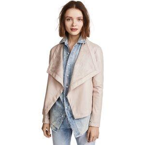BB Dakota Peppin Vegan faux Leather Drapey Jacket